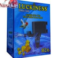 Pompa Air Celup Luckiness 826 untuk Akuarium dan Hidroponik