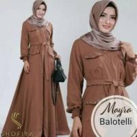 BIG SALE HARGA TERMURAH Dress Muslim Wanita Myra / Baju Gamis Syari Fa