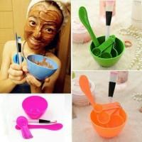 Harga mangkok masker peracik wajah diy 4in1 bowl tool tempat kuas   Pembandingharga.com
