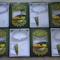 baju Kemeja Formal Baju Koko Atlas Bamus Universal-Putih