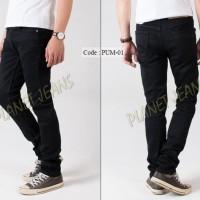 Celana TERBARU Celana jeans panjang pria skinny / pensil cowok bahan