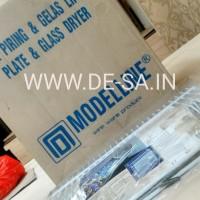 Modelline Plate & Glass Dryer / Rak Lipat Pengering Piring dan Gelas