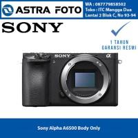 Sony Alpha A6500 Body Only Kamera Mirrorless Garansi Re Terlaris