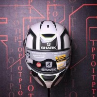 LIMITED HELM FULL FACE!! SHARK SKWAL TRION WHITE (NOT AGV ARAI SHOEI