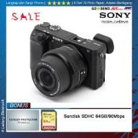 Sony Alpha A6300 Kit 16-50mm - Garansi Resmi 1 Tahun Berkelas