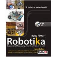 Buku Pintar Robotika + CD