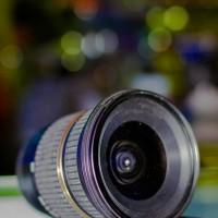 Tamron lensa wide 10 mm for canon