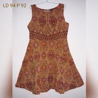 Dress Batik Tenun Endek