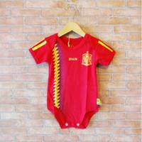 Baju Bola Bayi, Jersey Bola Bayi , Jumper Bola Bayi Spanyol Home Euro