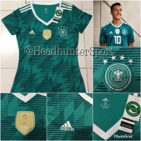 2395a27afbf JERSEY GERMANY JERMAN AWAY LADIES WORLD CUP 2018 GRADE ORI