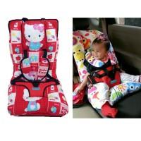 Jual Portable Baby Car Seat Carseat Baby Bayi Portable Bukn Pliko Organizer Murah