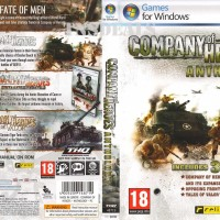 Kaset DvD Game COMPANY OF HEROES full update buat PC dan LAPTOP