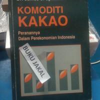 Harga BUKU KOMODITI KAKAO PERANANNYA DALAM PEREKONOMIAN INDONESIA ik   WIKIPRICE INDONESIA