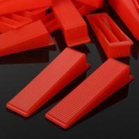 Red Wedges Tile Leveling System