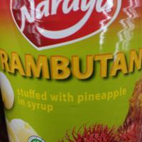 Naraya | rambutan | nanas | 565 gram | product of thailand | halal