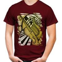 Kaos Custom Pria - Men Custom TShirt - Jazz Art 4