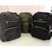 ORI LEATHER Tas Ransel TUMI Unisex Backpack TUMi Mirror Quality