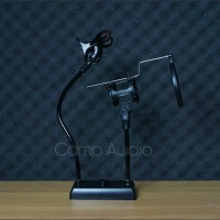 Flexible Stand Mikrofon dan Lazypod Smartphone Holder