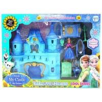 Mainan Anak Beauty My Castle Frozen No.2202 - Mainan Rumah Frozen