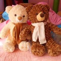 boneka jumbo beruang teddy bear panda boneka bandung kualitas mall