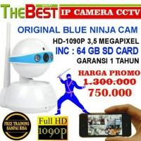 IP KAMERA CAMERA NINJA ORIGINAL 3.5 MP Inc. micro SD 64GB TERMURAH