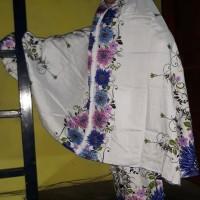 Mukena Bali Jumbo Motip Bunga