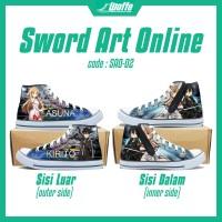 0c2f31b04 Jual Sepatu Anime High Sneakers Sword Art Online Murah