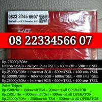 Jual Perdana Cantik Telkomsel simpati naik 1234567 2233 234 234567 sakti Murah