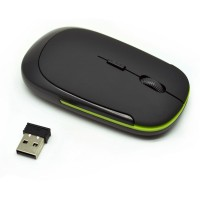 Promo !! Taffware Wireless Optical Mouse 2.4g Penunjuk Kursor Komputer