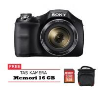 Sony Dsc-H300 Digital Camera Free Memori 16 Gb Dan Tas Kamera Promo