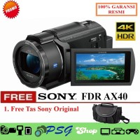 TOP Ready Sony FDR AX40 4K Handycam Promo Berkualitas