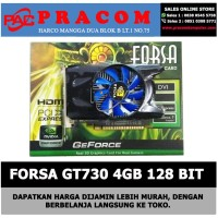 VGA CARD FORSA GT730 4GB 128 BIT DDR3