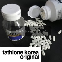 Tathione Korea Original - Isi : 60 Botol Berlabel. Dari botol isi 500.