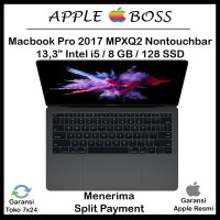 Harga apple new macbook pro mpxq2 2017 space grey | Pembandingharga.com