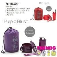 Tupperware Promo Red Blush Purple Blush Tempat Makan Minum Murah