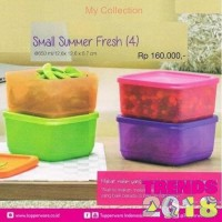 Tupperware Small Summer Fresh Wadah Tempat Makan Murah