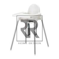 Kursi makan Anak dengan baki, Putih IKEA ANTILOP Kursi Duduk Bayi