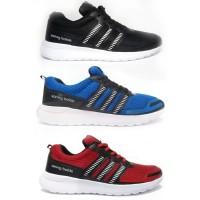 Sepatu Pria Dewasa  Adidas Sport Olah Raga Soring Balde Warna Hitam