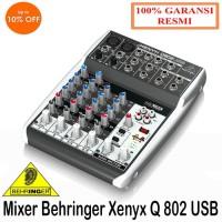 Mixer Behringer Xenyx Q 802 USB