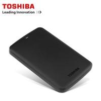promo Toshiba Canvio Basic Hardisk Eksternal 500GB USB3.0 - Hitam +