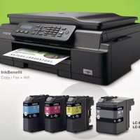 PRINTER BROTHER J200 PRINT COPY SCAN FAX WIRELESS BANJARMASIN