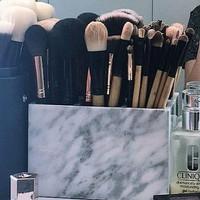 TRUCCO Mable Box | Kotak Makeup Marmer