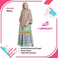 Baju Gamis Muslim RABBANI Dresslim Milana