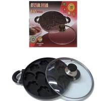 Hot List.. Cetakan Kue / Snack Maker 12 Lubang Motif Kue Cubit Starpan