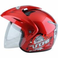 [Helm Anak] WTO Helmet Kids Pet - Gundam 3 - Merah