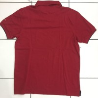 BAJU KAOS Polo NEW Polo Shirt GIORDANO - Red Maroon | size XL