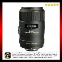 Sigma 105mm F2.8 EX DG OS HSM Macro Lens for Nikon AF C Premium