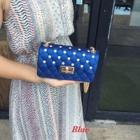 Harga promo tas import wanita ba0083 tas jelly wanita import elegant | Pembandingharga.com