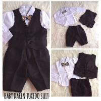 Baby Darren Tuxedo Suit / Tuxedo Bayi / Jas Bayi / Baju Pesta