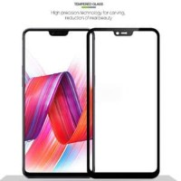 Oppo F7 Full Cover Layar Penuh Tempered Glass Antigores Anti Gores TG